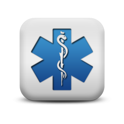 117829-matte-blue-and-white-square-icon-signs-medical-alert1